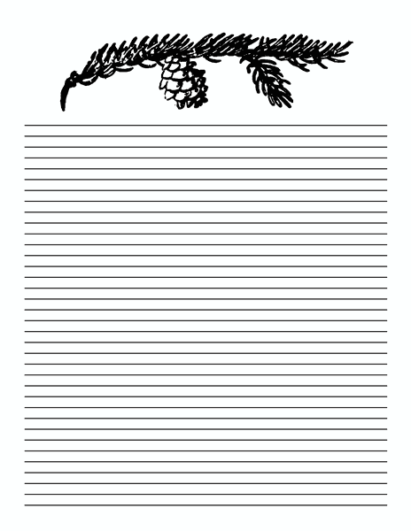 5 Lined Paper Templates
