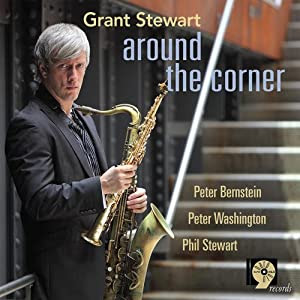 Grant Stewart- Around The Corner  cover