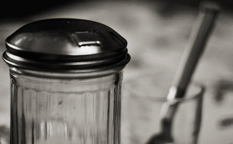 Prenent un cafè amb la Núria