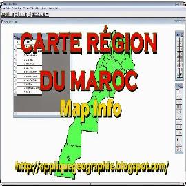 carte région du maroc