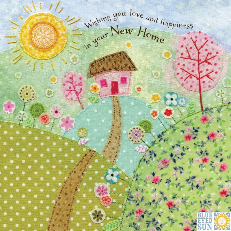 Wishing You Love And Happiness In Your New Home Card Karenza Paperie