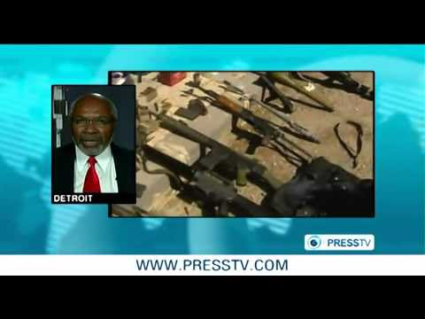 Abayomi Azikiwe, editor of the Pan-African News Wire, appearing on Press TV World News on August 20, 2012. Azikiwe is a frequent writer and commentator on African and Middle Eastern affairs. by Pan-African News Wire File Photos