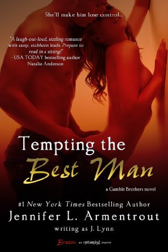 Tempting the Best Man (A Gamble Brothers Novel) (Entangled Brazen) by J. Lynn