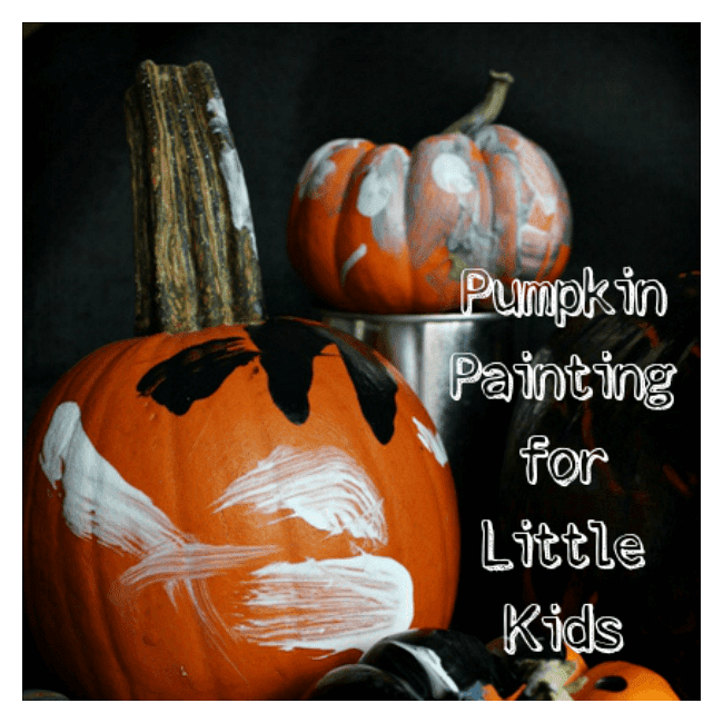 Pumpking Painting for Little Kids