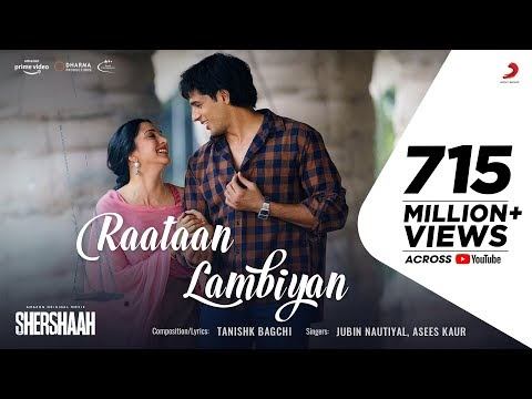 Raatan Lambiyan | Siddharth Malhotra | Kiara Advani