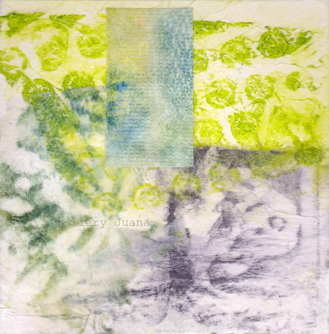 monoprint collage wip
