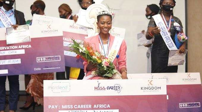 Umunya-Zimbabwe Natasha yegukanye ikamba rya Miss Career Africa 2020 ahigitse abarimo abanyarwandakazi-AMAFOTO - Inyarwanda.com #rwanda #RwOT