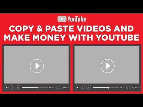 Copy & Paste videos and earn $100 - $300 Day [Tutorial]