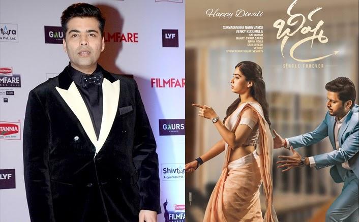 Post Vijay Deverakonda S The World Famous Lover Karan Johar Acquires The Rights For Nithiin Rashmika Mandanna S Bheeshma Too Bollywood Hungama