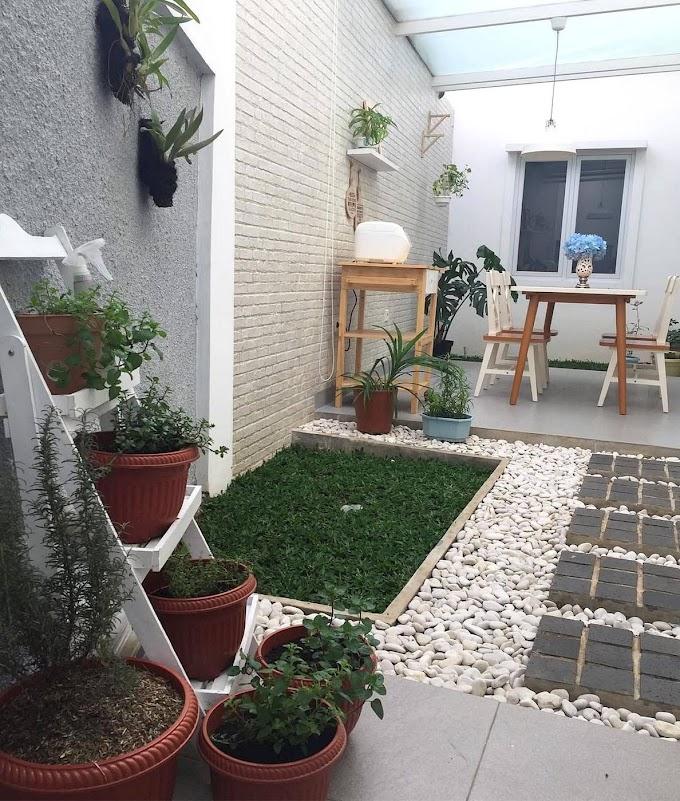 Taman Di Dalam Rumah Minimalis | Ide Rumah Minimalis