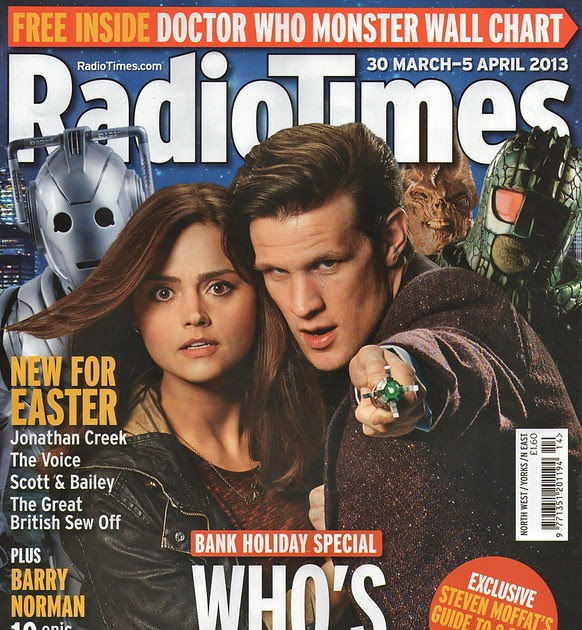 Doctor Who Radio Times Scans - 26/03/13