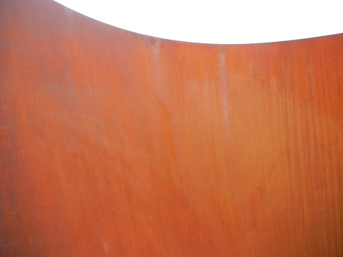 Steel Sculpture by Richard Serra, Cantor Arts Center, Stanford University _ 8379