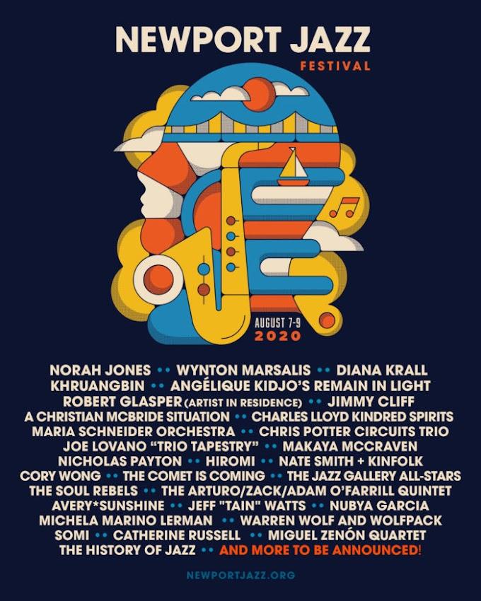 Newport Jazz Festival 2020 Initial Lineup: Norah Jones, Wynton Marsalis, Diana Krall, Khruangbin, Cory Wong and More