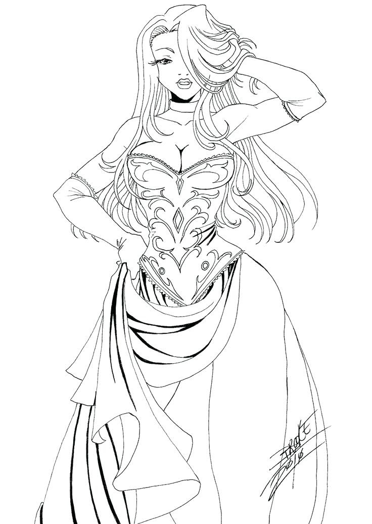 Female Vampire Drawing at GetDrawings | Free download