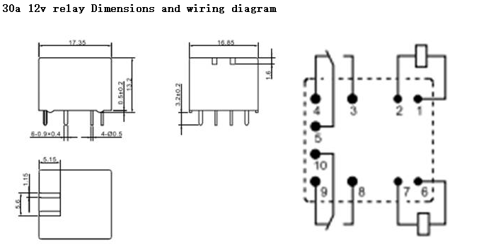 30a Relay Wiring Diagram