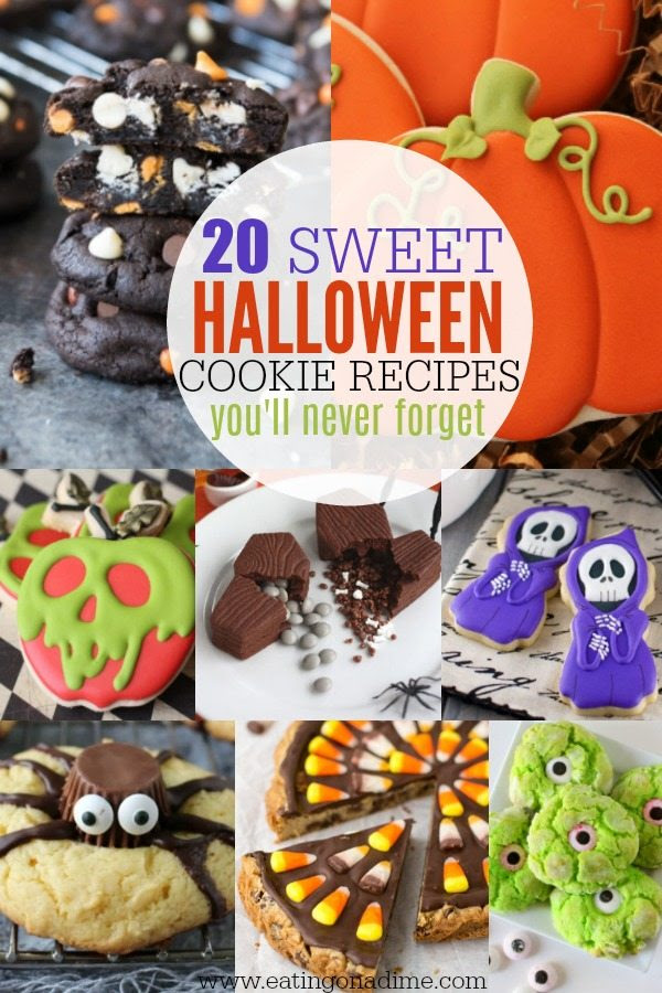 Easy Halloween Cookie Recipes for Kids - 20 Halloween ...