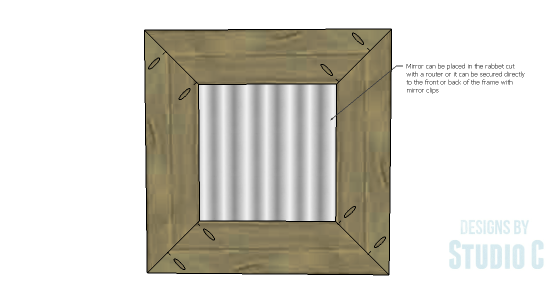 Mirror Frame-Mirror