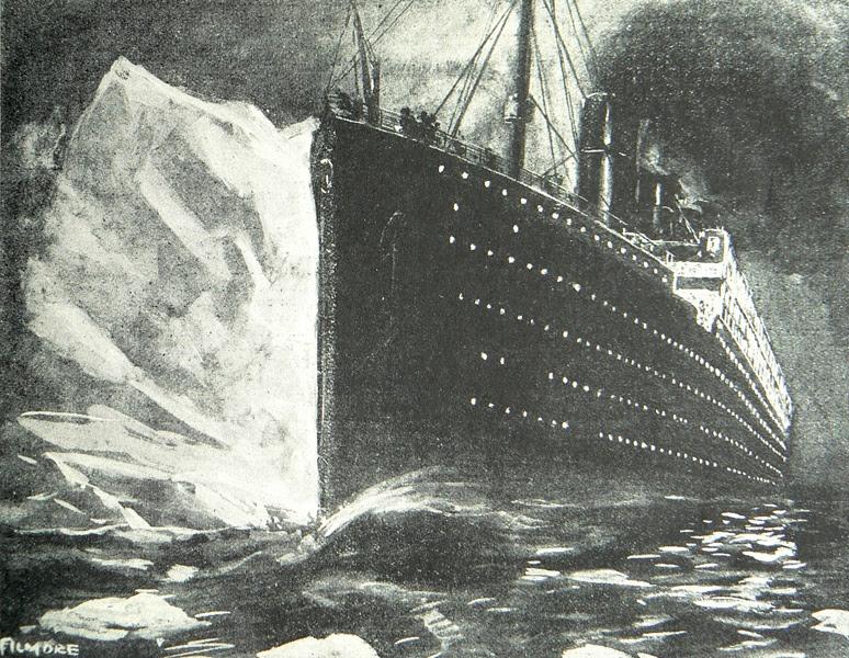 Résultats de recherche d'images pour «titanic iceberg»