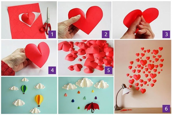 12 Diy Home Decor Ideas Using Decorative Paper