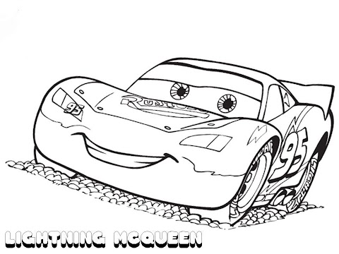Cool Mcqueen Coloring Pages