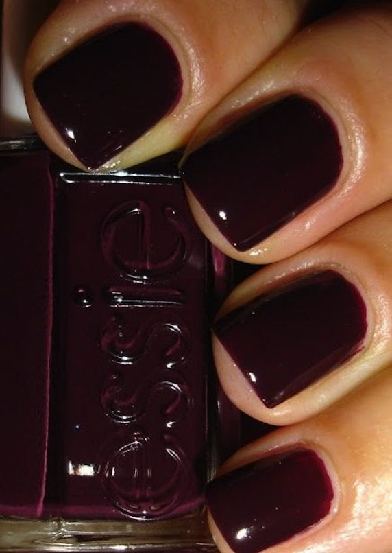 """Essie """"carry on"""" for fall/winter. Just painted my nails this color."""