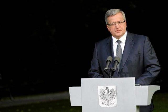 El presidente polaco, Bronislaw Komorowski, dijo el martes 9 de septiembre, durante la sesión del Consejo Nacional de Defensa del martes una aceptación plena de un 2 por ciento de su producto interno bruto (PIB) en el presupuesto del Estado a reservar para objetivos de defensa se le dio.