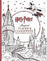 magical places characters coloring book livre