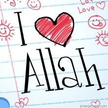 gambar : i love Allah