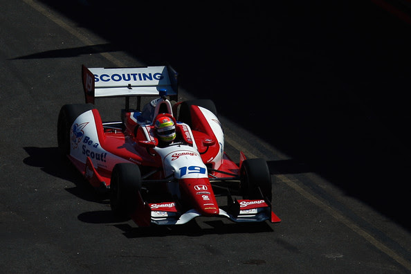 Justin Wilson - Sao Paulo Indy 300 - Day 1