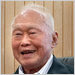 Lee Kuan Yew at his office in Singapore.