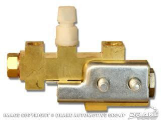 mustang brake distribution block czz   scott