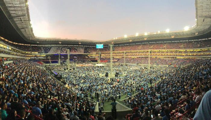 Evento recebeu fiéis de todo o estado. Foto: Rafael Brasileiro/Divulgação