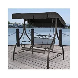 Amazon.com : Outdoor Porch Swing Deck Furniture with ...