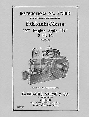 Manuals & Books, Stationary Engines, Light Equipment