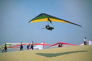 hang gliding, skim boards outer banks