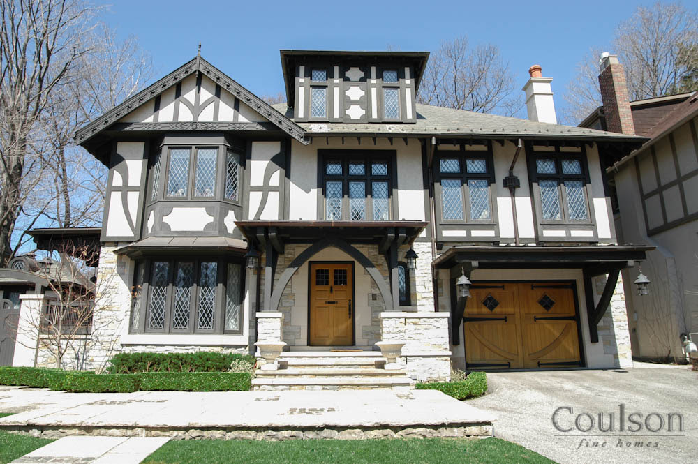Arts Crafts Architectural Style Custom Home Builder Toronto Oakville Mississauga Coulson Fine Homes
