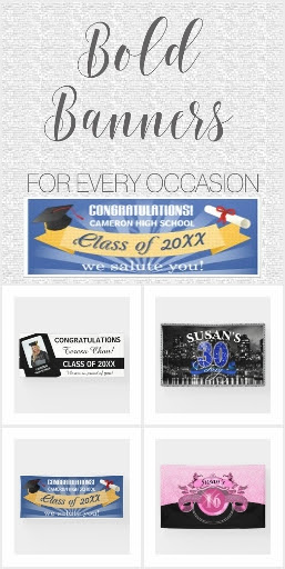Banners for Special Occasions