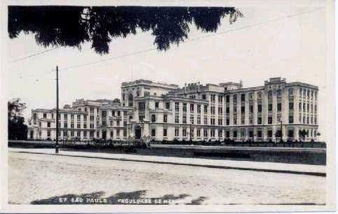 faculdade de medicina da usp: 1912