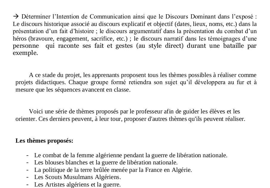 Le Compte Rendu Objectif Dun Texte Historique 3as - Texte ...