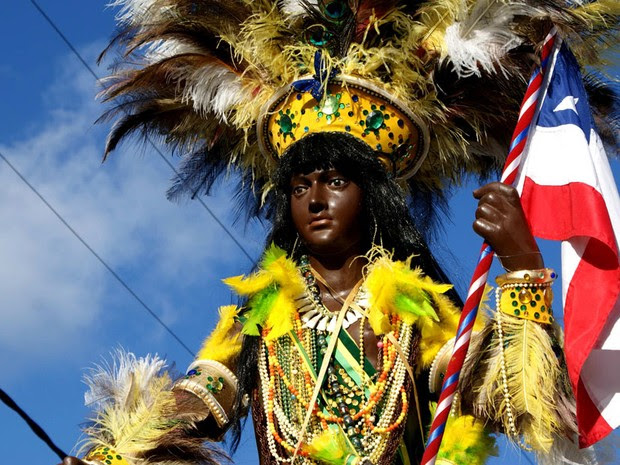 2 de Julho, Bahia (Foto: Egi Santana/G1)