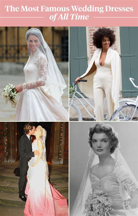 See the 100 Most Famous Wedding Dresses of All Time in 1