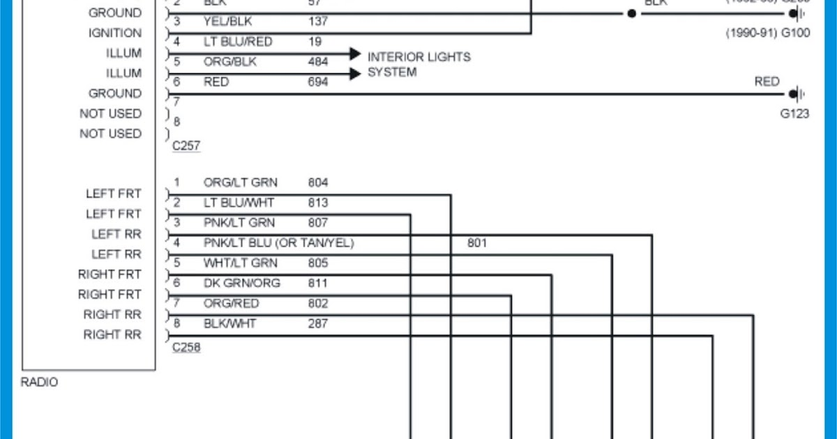 2009 Silverado Radio Wiring Diagram