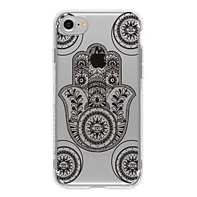 For Etui iPhone 7 / Etui iPhone 7 Plus / Etui iPhone 6 Monster Etui Bakdeksel Etui Geometrisk monster Myk TPU AppleiPhone 7 Plus / iPhone
