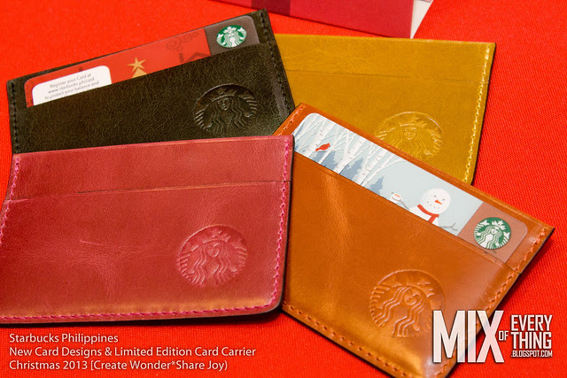 Starbucks 2013 New Card Designs