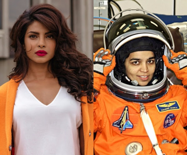Kalpana Chawla, Priyanka Chopra