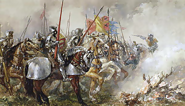 File:King Henry V at the Battle of Agincourt, 1415.png