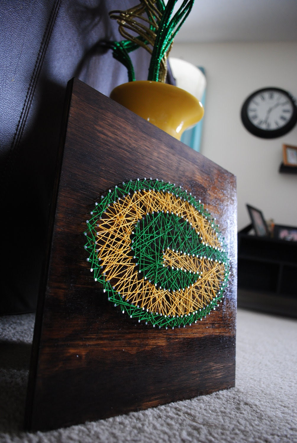 Green Bay Packers- Stained Small
