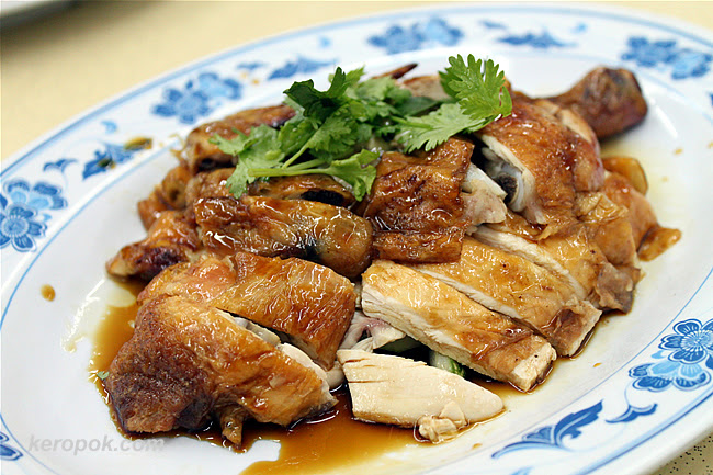 "Five Star ""Roast"" Kampung Chicken"