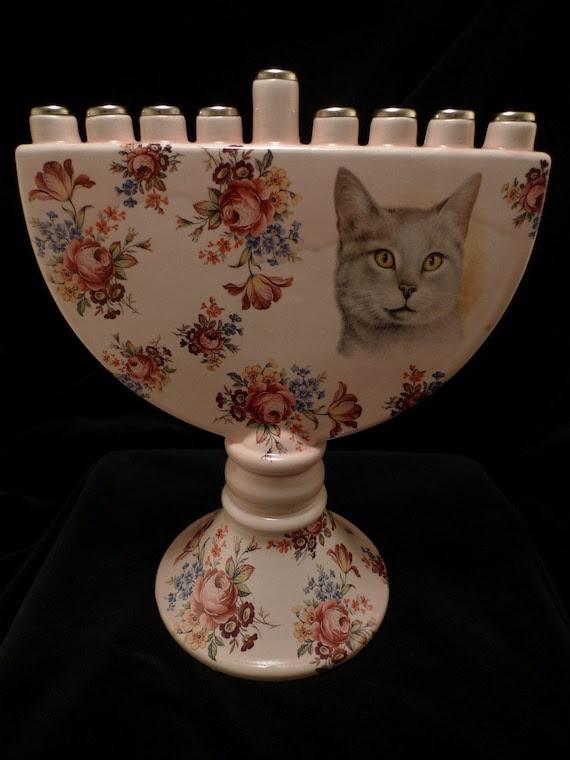 Cat Menorah