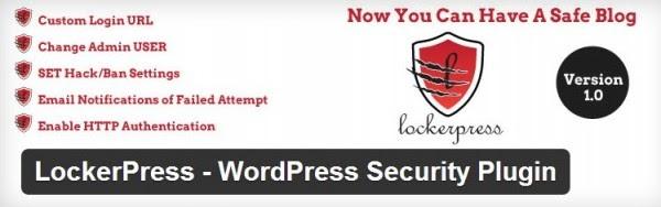 Lockerpress, una extensión de WordPress para hacer el sitio más seguro